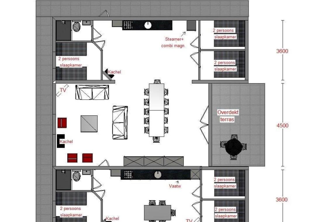 Bungalow 11: plattegrond
